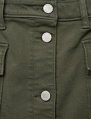 Banana Republic - Denim Utility Midi Skirt - maxi skirts - dark olive 629 - 3