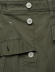 Banana Republic - Denim Utility Midi Skirt - maxi skirts - dark olive 629 - 4