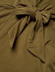 Banana Republic - Sandwash Tie-Front Cropped Jumpsuit - combinaisons - cindered olive - 3