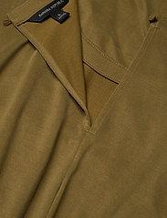Banana Republic - Sandwash Tie-Front Cropped Jumpsuit - combinaisons - cindered olive - 4