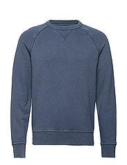 French Terry Sweatshirt - BLUE SHADOW