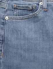 Banana Republic - High-Rise Skinny Button-Fly Jean - slim jeans - medium wash - 2