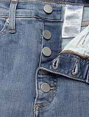 Banana Republic - High-Rise Skinny Button-Fly Jean - slim jeans - medium wash - 3