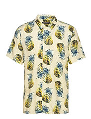 Slim Soft Resort Shirt - PINEAPPLE 638