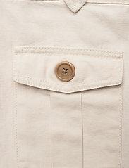 Banana Republic - Heritage Cotton-Linen Safari Skirt - midi skirts - transition cream - 2