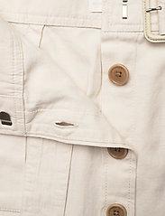 Banana Republic - Heritage Cotton-Linen Safari Skirt - midi skirts - transition cream - 3