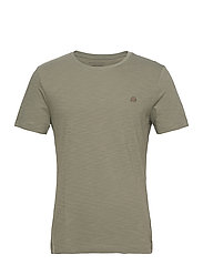 I LOGO SOFTWASH ORGANIC TEE - AUTUMN OLIVE