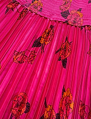 Banana Republic - Floral Satin Pleated Midi Skirt - midi skirts - midnight floaty floral - 2