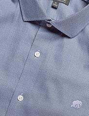 Banana Republic - I CA LOGO NI DOBBY - checkered shirts - elysian blue - 3
