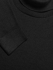 Banana Republic - Italian Merino Turtleneck Sweater - basic knitwear - black k-100 - 2