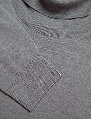 Banana Republic - Italian Merino Turtleneck Sweater - basic knitwear - harbor grey - 2
