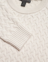 Banana Republic - SUPIMA® Cable-Knit Sweater - basic knitwear - transition cream - 2
