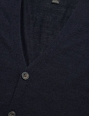 Banana Republic - Merino Cardigan Sweater in Responsible Wool - basic knitwear - navy heather - 2