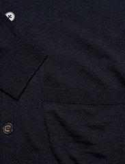 Banana Republic - Merino Cardigan Sweater in Responsible Wool - basic knitwear - navy heather - 3