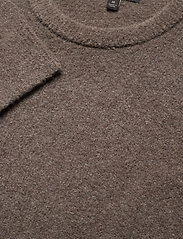Banana Republic - Wool-Blend Crew-Neck Sweater - basic knitwear - soft taupe - 2