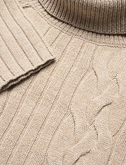 Banana Republic - Italian Wool-Blend Turtleneck Sweater - basic knitwear - vintage tan - 2