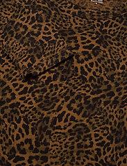 Banana Republic - Slub Cotton-Modal Long-Sleeve T-Shirt - long-sleeved tops - black/leopard - 2