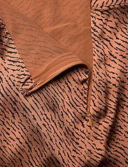 Banana Republic - Satin Godet Midi Skirt - midi skirts - camel/animal print - 3