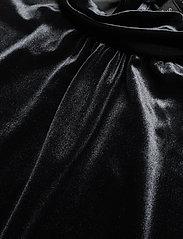 Banana Republic - Velvet Tie-Neck Top - Ærmeløse bluser - black - 2