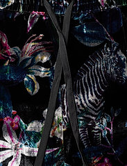 Banana Republic - Velvet Pajama Set - pyjama''s - fleur watercolor zebra - 6