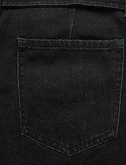 """Banana Republic - High-Rise Pleated 4"""" Jean Short - denim shorts - black wash - 4"""