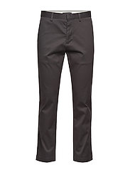 Aiden Slim Rapid Movement Chino - CHARCOAL 1