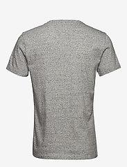 Banana Republic - I LOGO SOFTWASH TEE II - basic t-shirts - smoking grey global - 1
