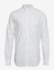 Banana Republic - Standard-Fit Luxe Poplin Shirt - oxford-paidat - plein air 13-4111 tcx - 0