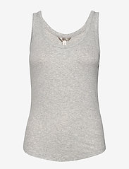 Banana Republic - Essential Tank Top - sleeveless tops - light grey - 0