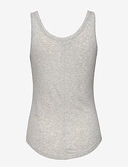Banana Republic - Essential Tank Top - sleeveless tops - light grey - 1