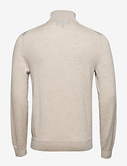 Banana Republic - Italian Merino Turtleneck Sweater - perusneuleet - light oatmeal heather - 1