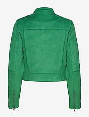 Banana Republic - Vegan Suede Biker Jacket - leather jackets - bright green - 3