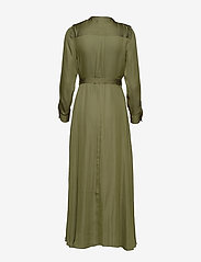 Banana Republic - I LS TRENCH MAXI DRESS - shirt dresses - jungle olive - 1