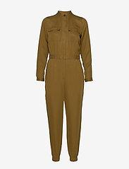 Banana Republic - TENCEL™ Flight Jumpsuit - jumpsuits - cindered olive - 0