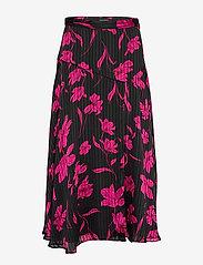 Banana Republic - Floral Asymmetrical Skirt - midi skirts - pink floral - 0