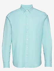 Banana Republic - I UT LOGO OXFORD SOLID - basic shirts - light blue - 0