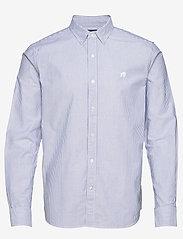 Banana Republic - I UT LOGO OXFORD STRIPE - oxford shirts - blue violet - 0