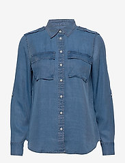Banana Republic - Dillon Classic-Fit TENCEL™ Utility Shirt - jeansblouses - chambray sp00 - 0
