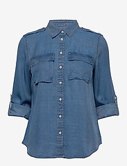 Banana Republic - Dillon Classic-Fit TENCEL™ Utility Shirt - jeansblouses - chambray sp00 - 2