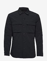 Banana Republic - Motion Tech Shirt Jacket - tops - dark navy - 0