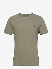 Banana Republic - I LOGO SOFTWASH ORGANIC TEE - basic t-shirts - autumn olive - 0