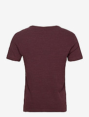 Banana Republic - I LOGO SOFTWASH ORGANIC TEE - basic t-shirts - maroon htr hb414 - 1
