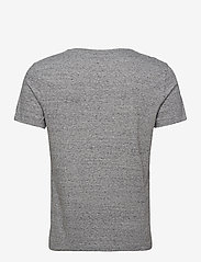 Banana Republic - I LOGO SOFTWASH ORGANIC TEE - basic t-shirts - medium grey hthr b25 - 1
