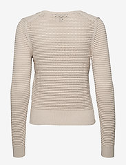 Banana Republic - Pointelle Cropped Sweater - swetry - natural - 1