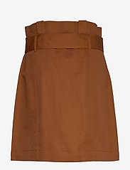 Banana Republic - Paperbag Utility Skirt - short skirts - dark beach - 1