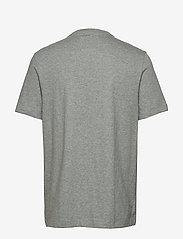 Banana Republic - I GRAPHIC TEE - BR LOGO I - short-sleeved t-shirts - heather grey - 1