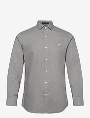 Banana Republic - I CA LOGO NI DOBBY - checkered shirts - olive you - 0