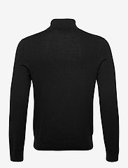 Banana Republic - Italian Merino Turtleneck Sweater - basic knitwear - black k-100 - 1