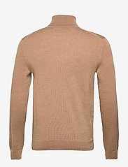Banana Republic - Italian Merino Turtleneck Sweater - basic knitwear - classiccaramel - 1