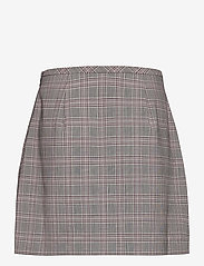 Banana Republic - Washable Wool-Blend Mini Skirt - midi skirts - pink plaid - 1